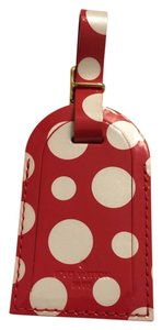 Louis Vuitton Louis Vuitton limited edition red kusama luggage tag