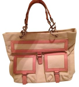 Maxx New York Tote in Cream & Blush