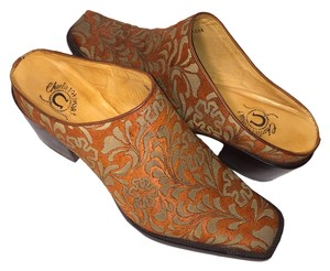 Charlie 1 Horse Boots Tan Mules