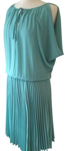 Aqua Maxi Dress by BCBGMAXAZRIA