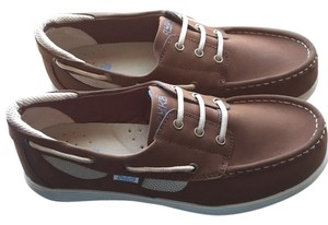 Ryka Brown nubuck leather Flats