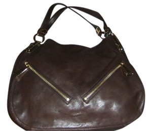 Michael Kors Mk Shoulder Satchel in Brown