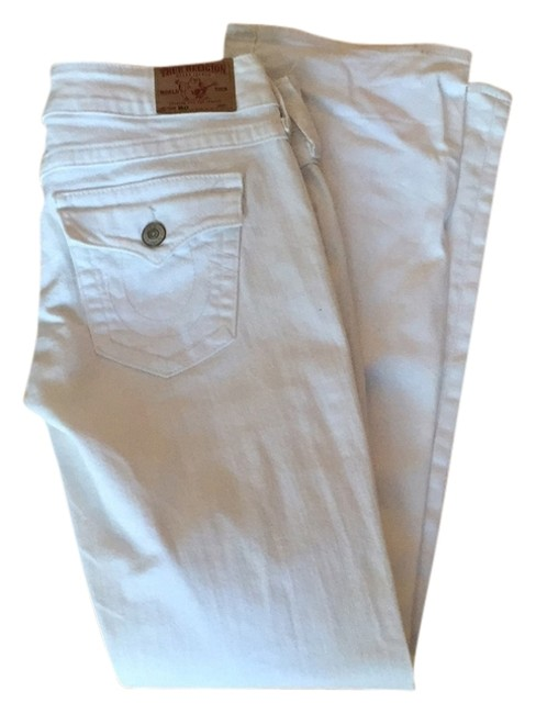 Item - White Boot Cut Jeans Size 31 (6, M)