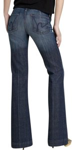 Citizens of Humanity Demin Trousers Trouser/Wide Leg Jeans-Medium Wash