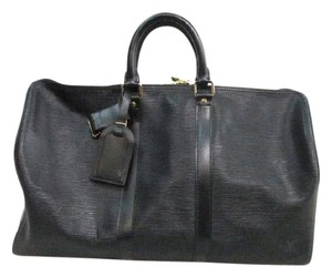 Louis Vuitton Epi Black Travel Bag
