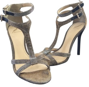 B Brian Atwood Metallic gold and silver Formal