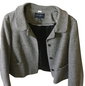 Banana Republic Going Out Good With Jeans Black and white Jacket
