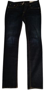 Rag & Bone Skinny Pants Dark Blue