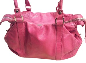 Francesco Biasia Satchel in Pink