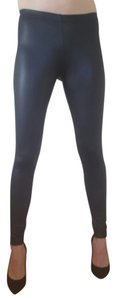 Mimi Chica Faux Leather Night Out Black Leggings