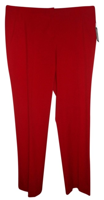 Vince Camuto Straight Pants red