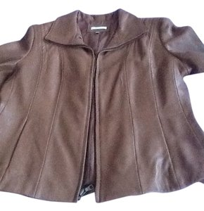 Avanti Designs Caramel Leather Jacket