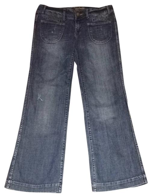 American Eagle Outfitters Trouser/Wide Leg Jeans-Medium Wash Image 0