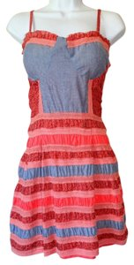 American Rag short dress Red Combo on Tradesy
