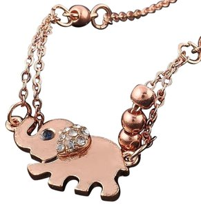 New 14K Gold Filled Elephant Ankle Bracelet Anklet 10 inch J2430