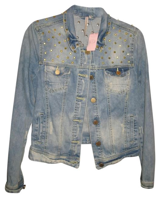 Preload https://item1.tradesy.com/images/romeo-and-juliet-couture-denim-jacket-size-4-s-1481635-0-0.jpg?width=400&height=650