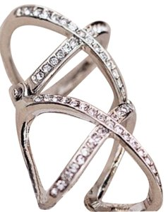 Double X Knuckle Ring