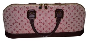 Louis Vuitton Satchel in Wine