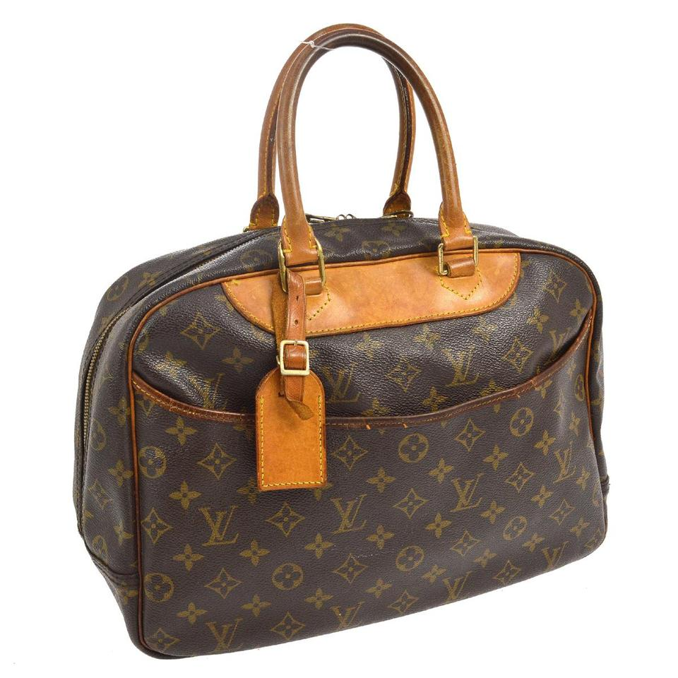 louis vuitton deauville business weekend travel bag tradesy. Black Bedroom Furniture Sets. Home Design Ideas