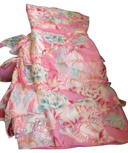 Kay Unger Scarf Hawaiian Romantic Summer Dress