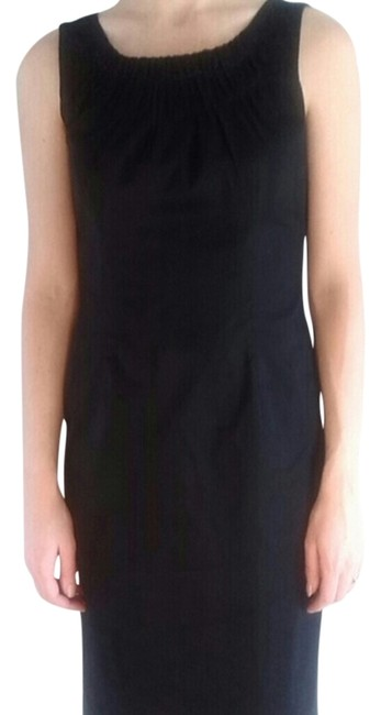 Preload https://img-static.tradesy.com/item/1481671/calvin-klein-black-knee-length-workoffice-dress-size-2-xs-0-0-650-650.jpg