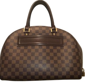 Louis Vuitton Hobo Satchel in Brown