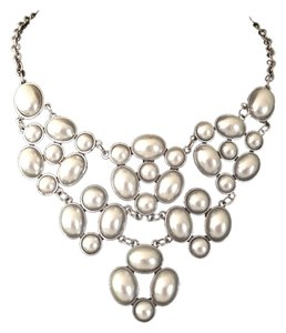 Other Pearl Bib Necklace