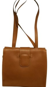 Joan & David Leather Tote in Brown