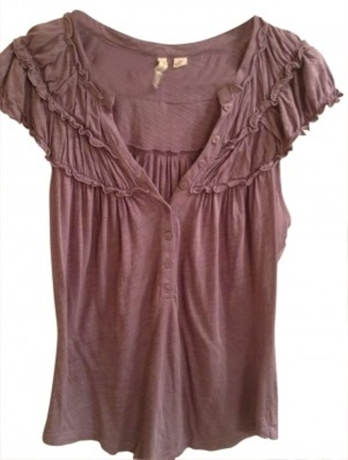 Preload https://img-static.tradesy.com/item/148177/lavender-anthropologie-blouse-size-8-m-0-0-650-650.jpg