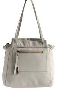 NICOLI Handbags Leather White Shoulder Bag