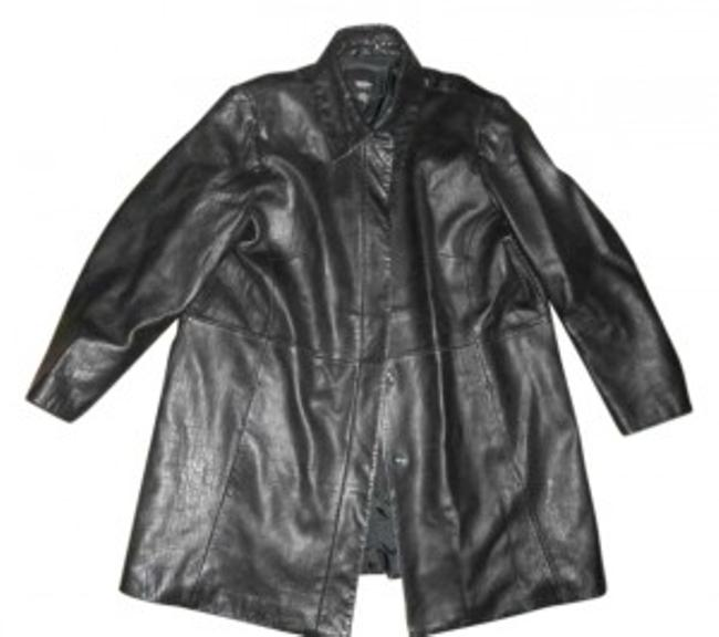 Preload https://img-static.tradesy.com/item/148180/mossimo-supply-co-black-buttons-up-excellent-condition-leather-jacket-size-18-xl-plus-0x-0-0-650-650.jpg