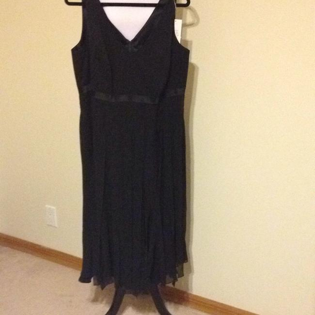 Item - Black Long Cocktail Dress Size 14 (L)