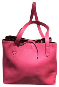 Kate Spade Leather Poka Tote in Pink