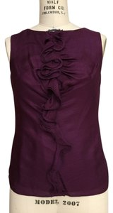 Trina Turk Silk Top Purple