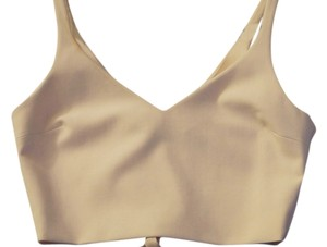 Elizabeth and James Ponte Knit Bra Top pink sand