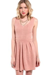 Akira short dress Blush Heart on Tradesy
