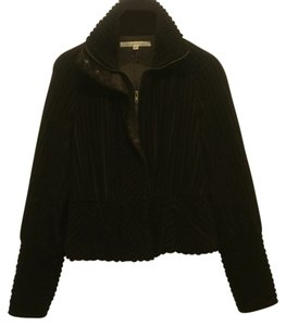 Diane von Furstenberg Dark Chocolate Brown Jacket