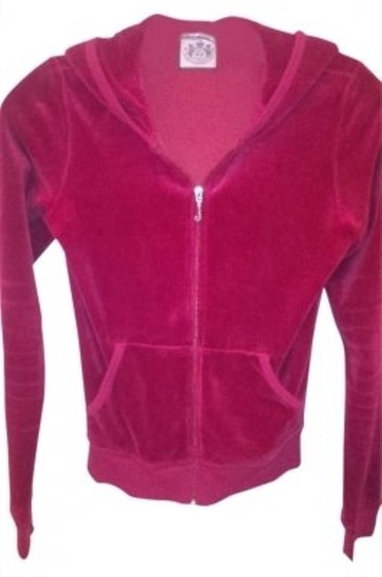 Juicy Couture Velour Red Jacket
