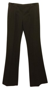 Theory Wide Leg Pants Charcoal Gray