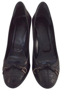 Dior Cannage Quilting Black Pumps - item med img
