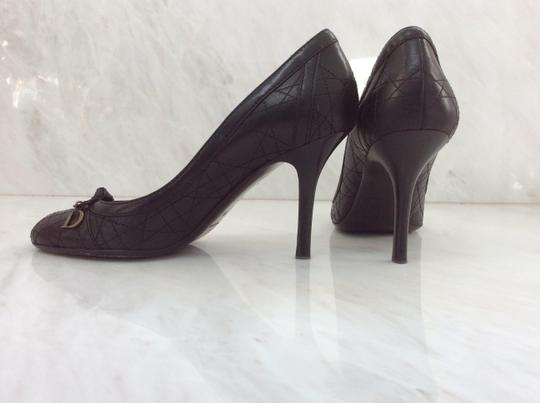 Dior Cannage Quilting Black Pumps