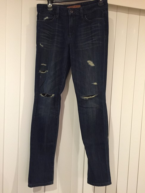 JOE'S Jeans Joe's Skinnies Destroyed Vintage Vintage Reserve Dark Skinny Jeans-Distressed