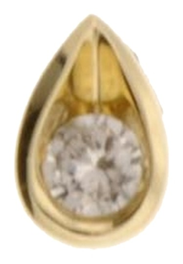 Other .66 carat solitaire Diamond pendant in 14k yellow gold