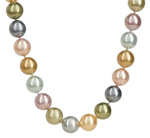Kenneth Jay Lane MIB: Kenneth Jay Lane Simulated Multi-Color Pearl Necklace