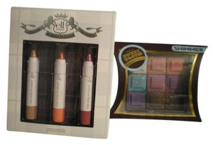 e.l.f. ELF JUMBO LIP GLOSS SET & PROFUSION EYESHADOW PALETTE NEW