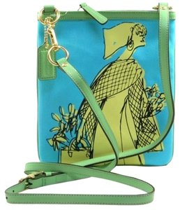 Coach Bonnie Novelty Fabric Print Swingpack 42605 884830781045 Cross Body Bag