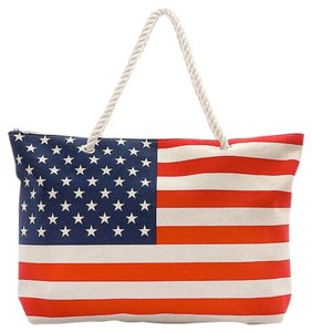 Other Tote in Red, White and Blue