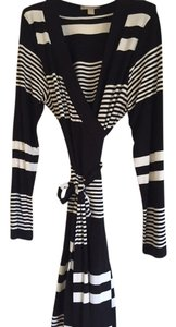 Banana Republic short dress Black & White Stripe on Tradesy