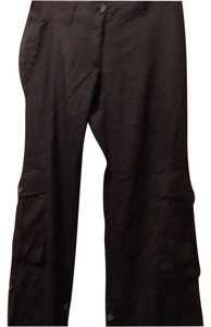Theory Straight Pants Brown