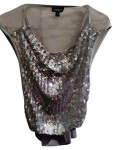 bebe Sequin Top